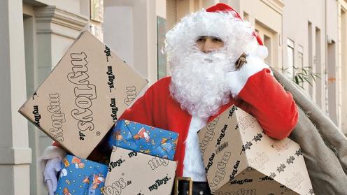 Online-Shopping fŸr Weihnachtsmann immer attraktiver / myToys.de freut sich auf starken Dezember, bereits jetzt zweistellige Zuwachsraten und Rekordergebnis am 1. Advent