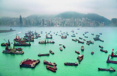 Wer bei international agierenden Logistikunternehmen arbeitet, genießt vielleicht die Skyline von Shanghai.